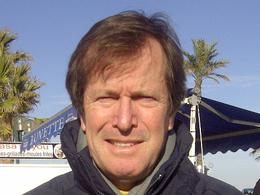 Hubert Auriol au départ de l'Africa Eco Race