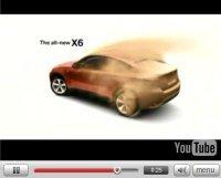 Pub Vidéo : BMW X6 façon Mio Mao