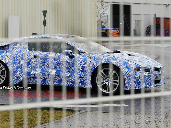La future BMW i8 surprise