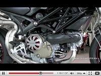 Admirez la Monster 1100 Titanium en vidéo