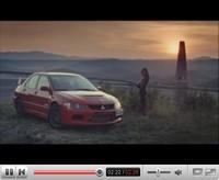 La vidéo du jour : publicité Mitsubishi Lancer Evolution IX... baroud d'honneur !