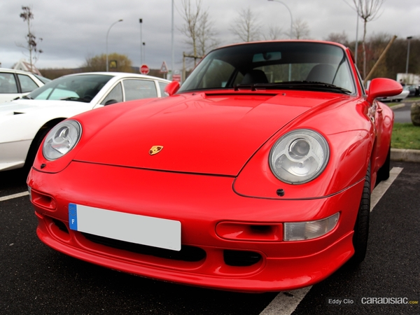 Photos du jour : Porsche 911 993 Turbo (Cars & Coffee Paris)