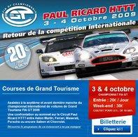 FIA-GT au Paul Ricard les 3 et 4 octobre : réservez les dernières places