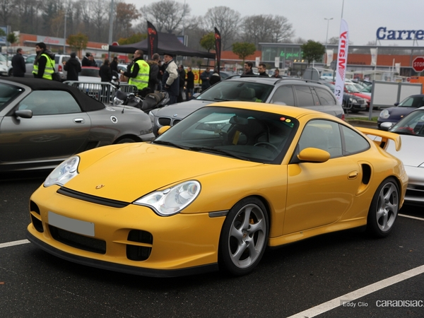 Photos du jour : Porsche 911 996 GT2 (Cars & Coffee Paris)