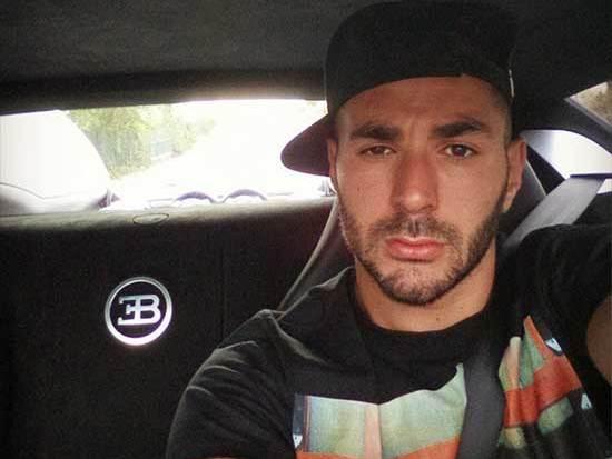 Karim Benzema s'est offert une Bugatti Veyron