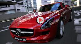 Gran Turismo 5 : une vidéo de la Mercedes SLS pour patienter jusqu'en ... mars 2010 (au moins !)