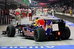 F1 Singapour : le poids des monoplaces