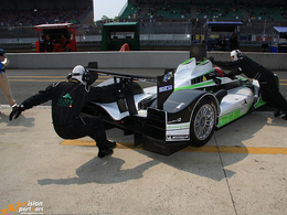 L'Oreca 01 hybride du Hope Racing progresse