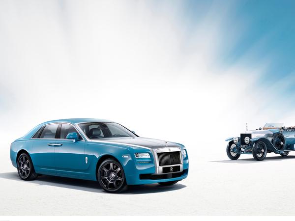 Shanghai 2013 : Rolls-Royce Ghost Alpine Trial Collection