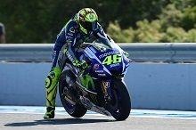 Moto GP – Grand Prix d'Espagne: Valentino Rossi travaille pour la course