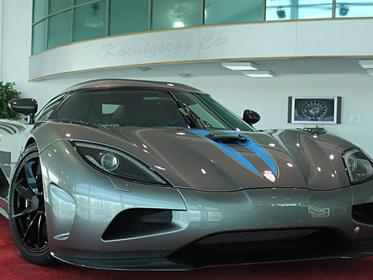 La toute première Koenigsegg Agera, en vente à Abu Dhabi