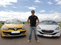 Les essais de Soheil Ayari - Renault Mégane RS275 Trophy  vs Peugeot RCZ R : avantage losange