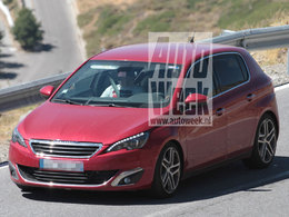 Future Peugeot 308 GT: surprise avant le Mondial de Paris