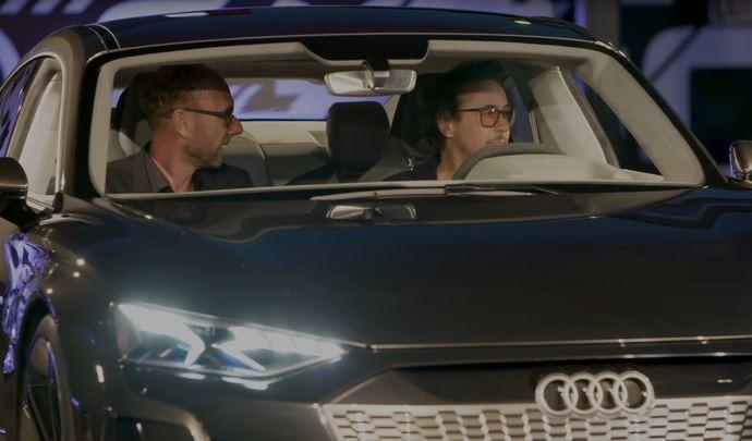Vidéo: Tony Stark annonce l'Audi E-tron dans Avengers 4.