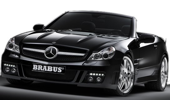 Mercedes SL by Brabus : prémices