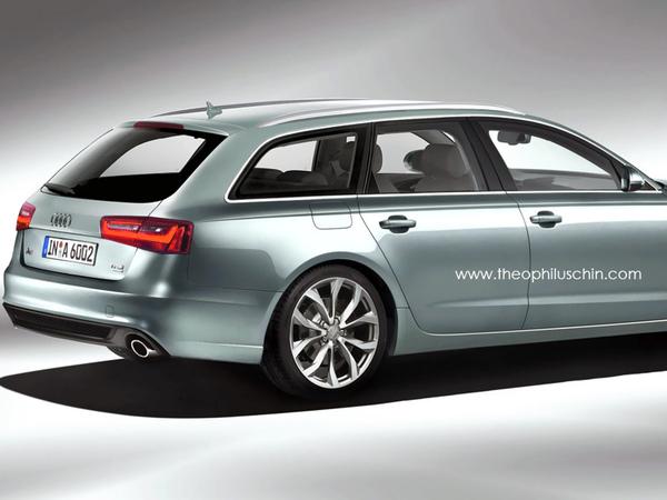 Nouvelle Audi A6 Avant : comme ça ?