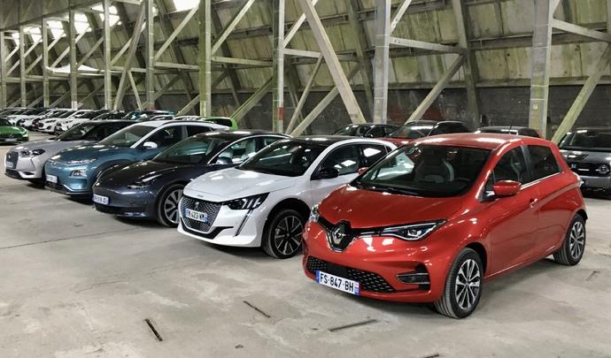 Les 5 électriques les plus vendues en 2020 : DS3 Crossback, Hyundai Kona, Peugeot 208, Renault Zoé, Tesla Model 3 - Salon de l'auto Caradisiac