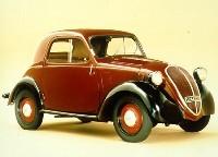La microcar de Fiat se nommera-t-elle Topolino?