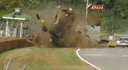 Vidéo : le terrifiant crash de l'Acura LMP1 à Petit Le Mans