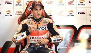 MotoGP - Silverstone J.1: Márquez a connu un vendredi agité