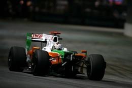 F1 - 20 000 dollars d'amende pour Adrian Sutil