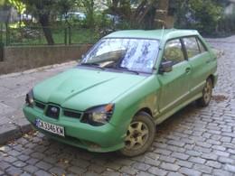 Saucisse du vendredi : Subaru Justy WRX