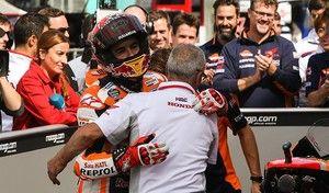 MotoGP - Silverstone J.2: Márquez impressionne Rossi séduit