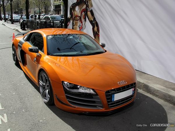Photos du jour : Audi R8 GT