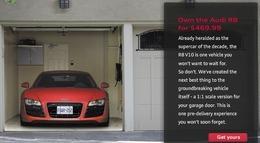 Faites croire à vos voisins que vous roulez en Audi R8 V10