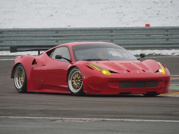 Ferrari 458 GT2 : première photo