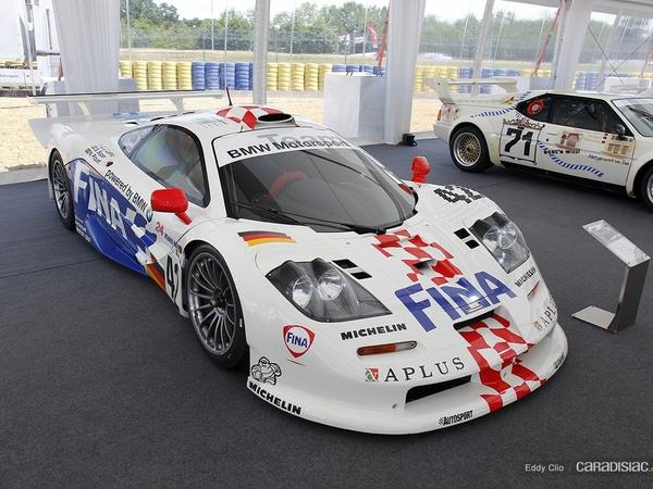 Photos du jour : McLaren F1 GTR (Le Mans Classic)