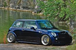 "Mini Cooper HRS, une ambiance très ""marine"""