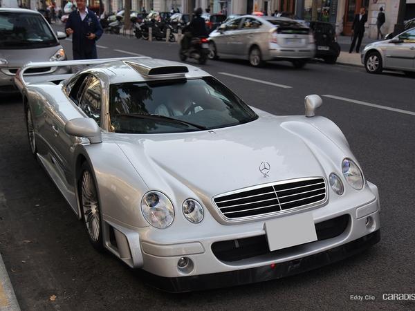 Photos du jour : Mercedes CLK GTR