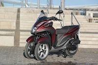 MBK/Yamaha : les Tricity/Tryptik passent à 3999 €