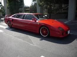 La limousine la moins confortable du monde, une Ferrari F40