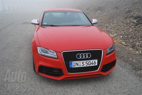Spyshot : l'Audi RS5 pris sans aucun maquillage