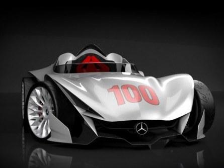 Mercedes W100F: en hommage à Fangio