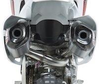 Yoshimura: ligne RS-9 Dual pour CRF 450 (2013)