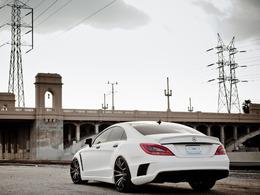 Mercedes CLS, projet 2012 pour Royal Muffler