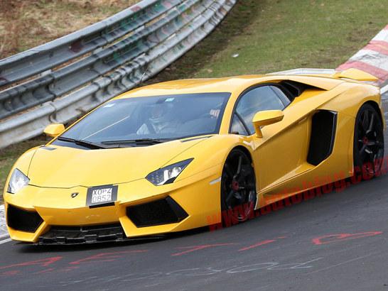 La future Lamborghini Aventador SV surprise
