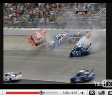 [vidéo] Nascar : Logano, flips and flippe
