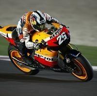 Moto GP - Test Qatar D.1: Pedrosa mène un trio de tête Honda
