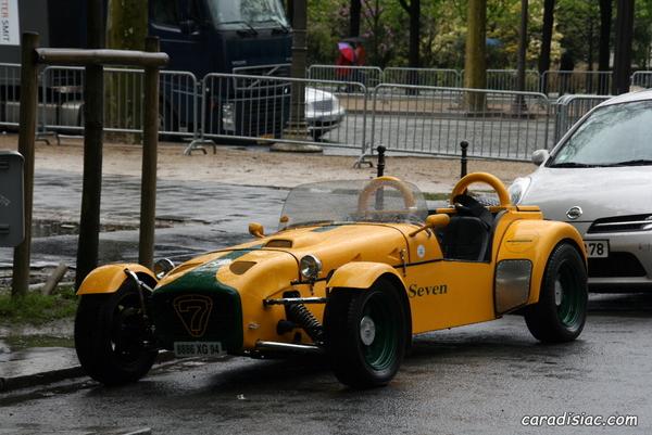 Photos du jour : Lotus super 7