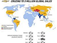 3 millions de Chevrolet Cruze déjà vendues