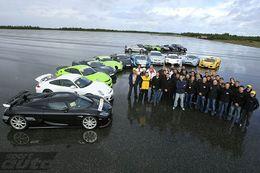 Comparatif géant d'accélérations entre supercars pour l'édition allemande de Sport Auto