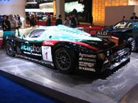 Le stand Maserati au salon de l'Auto