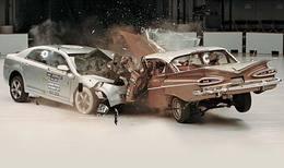 Crash-test Chevrolet Malibu VS Chevrolet Bel Air 1959 : l'autopsie en photo
