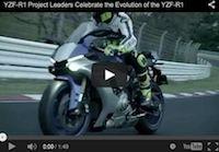 Yamaha YZF-R1... 17 ans déjà. Les différents modèles en vidéo