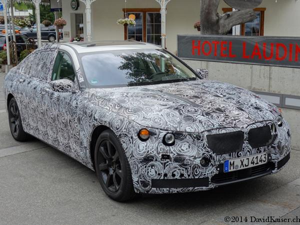 Les prototypes de BMW X7 et Série 7 surpris ensemble