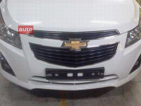 Chevrolet Cruze: un restyling pour bientôt